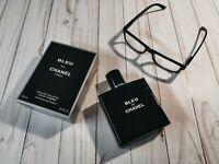 Chanel Bleu De Chanel paris toilette 100ml 3.4 oz Spray New with box for Men's