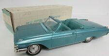 Rare Vintage 1962 Mercury Monterey Convertible Promo Car Aqua Original GB007