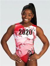 NWT E4168 Ltd Edition 2020 2021 Tokyo Simone Biles GK ™ gymnastics leotard CM