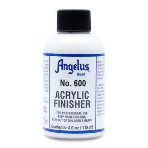 Angelus Acrylic Leather Paint Original Gloss 600 Acrylic Finisher 4oz Bottle