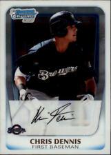 2011 Bowman Chrome Prospects Baseball Card Pick