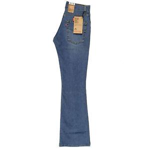Levi's 525 Ladies Vintage Stonewash Slim Bootcut (Size 08, 26W/32L)
