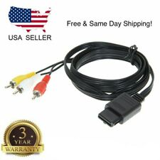FOR NINTENDO 64 N64 AV AUDIO VIDEO A/V CABLE CORD WIRE