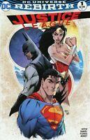 JUSTICE LEAGUE REBIRTH #1 MICHAEL TURNER VARIANT NM BATMAN SUPERMAN WONDER WOMAN