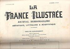 La France Illustrée Journal semanal 30e año Nº 1501 REF E5