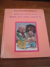 (E287) ALTES KINDERBUCH GOLDZÖPFCHEN UND DIE DREI BÄREN WACKELBILD CARLSEN 1968