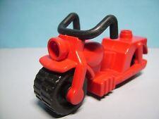 Lego Duplo Motorrad rot