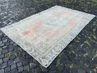 Large rug, Turkish rug, Vintage rug, Handmade rug, Wool, Carpet   5,9 x 9,0 ft