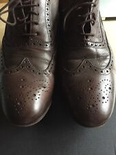 Paul Smith Men's Men's Dip Dye Brown Leather Miller Brogues RRP £265 UK 8.5 xx