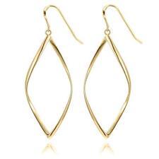 14k GOLD gf LINEAR DROP DANGLE Ear Threads Threader Earrings