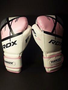 RDX Boxing Gloves Ladies Pink Training, Muay Thai Mitts Punching 8 oz. New W/tag