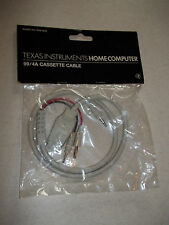 TI-99/4A TI99 Home Computer Beige Single CASSETTE CABLE PHA 2622 NEW **SEALED**