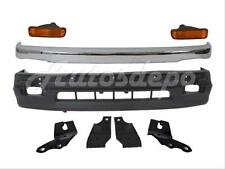 FOR 98-00 TACOMA 2WD FRONT BUMPER COVER CHROME TRIM SUPPORT BRACKET PARK LIGHT