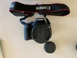 Canon EOS 600D Camera with 3 Lenses and accessories