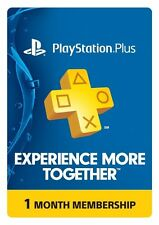 1-Month Playstation Plus Membership [PSN Card]