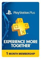 1-Month Playstation Plus Membership [PSN Card]