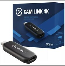 Elgato Cam Link 4K Compact HDMI Capture Device for Live Streaming and Recording