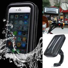 Bendable Arm Motor Bike Motorcycle Phone Holder Bag Rear Mirror Waterproof Case
