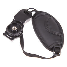Black Leather Wrist Strap Hand Grip for Canon Nikon Sony Olympus SLR DSLR Camera