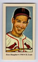 Enos Slaughter '46 St. Louis Cardinals world champions Tobacco Road series #43
