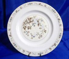 ROYAL DOULTON CHINA Mandalay #TC1079 Dinner Plate - Tan, Blue&White Flowers