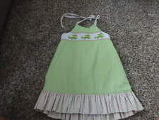 BOUTIQUE ZUCCINI 2T SMOCKED CROCODILE   DRESS