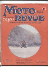 Moto Revue N°118 : 15 fevrier 1923 ,le bloc moteur ,Sidecar GEO ,moto Pierton