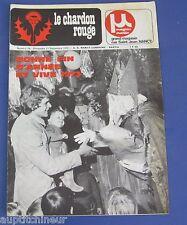 La chardon rouge ASNL Nancy Football n° 19 1972