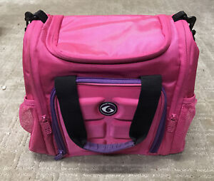 Six Pack Fitness Innovator 300 Pink Purple Meal Prep Insulated Bag