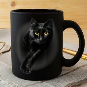 Black Cat Bat Horror Mug Best Gift For Friends & Family Halloween, Christmas ...