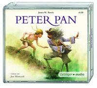JAMES M. BARRIE - PETER PAN 4 CD NEU