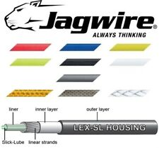 JAGWIRE LEX-SL Pre-Lubed Gear Outer Cable Blue,White,Red,Yellow,Green,Black,Grey