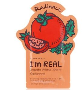 [TOMYMOLY] I'm REAL Tomato  Sheet Mask / 6EA