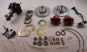 1967 1968 1969 1970 Ford Mustang power front disc brake conversion ADJ PRO VALVE