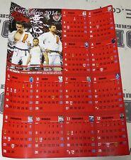 Marcos de Souza Roberto Satoshi Mauricio Dai 2014 Calendar Poster BJJ Jiu-Jitsu