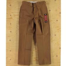 34 W 32 L Dickies Original 874 Fifty Years Straight Leg Work Pants Brown Duck