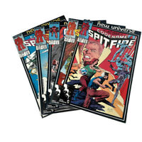 Marvel Comics New Universe Code Name Spitfire 4 Issues VF/NM