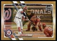 2021 Topps Series 1 Base Gold Foil #330 Juan Soto - Washington Nationals