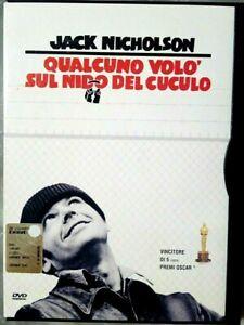 QUALCUNO VOLO' SUL NIDO DEL CUCULO (1975) di Miloš Forman DVD EX NOLEGGIO WARNER
