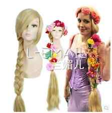 Tangled / Rapunzel / music style to wear double tails 80cm cos wig