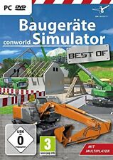 Construction Equipment Simulator - Conworld - Best of PC New + Ovp