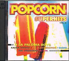 4 CDs: POPCORN Superhits & BOOOM '97 (38 explosive Hits)