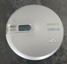 Sony Portable CD Walkman Player D-EJ761 G-Protection Silver - Working VGC