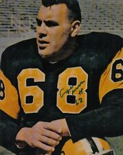 Angelo Mosca Hamilton Tiger Cats Autographed Signed CFL 8x10 Photograph w/COA