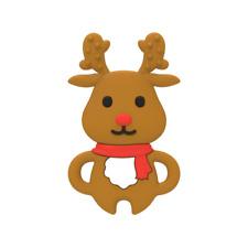 Baby Christmas Gift Reindeer Baby's first Christmas Baby Teether Sensory Toy