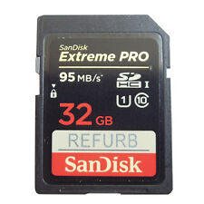 SanDisk 32GB Extreme Pro 95MB/S SDHC SD Memory card C10 U3 SDSDXP-032G for Canon
