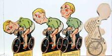 CYCLE BGA MARQUE PAGE PUBLICITAIRE ARTICULE DERAILLEUR SANS CABLE VELO