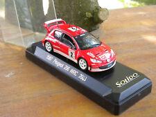 SOLIDO PEUGEOT 206 WRC 2003 N° 1587 Neuf + boite