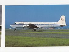 Conifair MDC Douglas DC 6A Mont Joli Que. Airport Aviation Postcard, A630