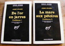 John Starr Confidences Editions Gallimard Collection Série Noire 1962 2 volumes